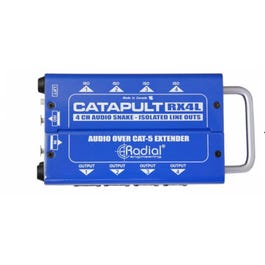 Image for Catapult RX4L 4-channel Cat 5 Audio Snake from SamAsh