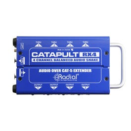Radial RX4 Catapult 4-Channel Cat 5 Audio Snake, Receiver