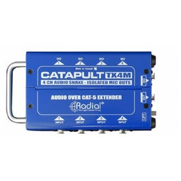 Image for Catapult TX4M 4-Channel Cat 5 Audio Snake from SamAsh