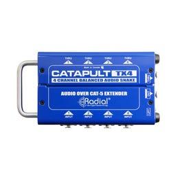 Radial TX4 Catapult 4-Channel Cat 5 Audio Snake, Transmitter