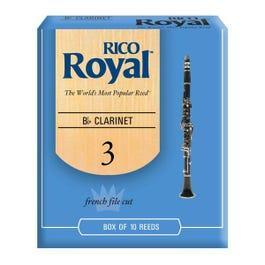 Image for Rico Royal Bb Clarinet Reeds (Box of 10) from SamAsh