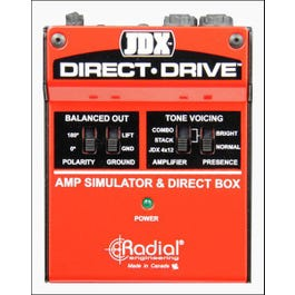 Image for JDX Direct-Drive Amp Simulator and DI Box from SamAsh