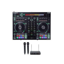 Image for DJ-505 Serato DJ Controller with Wireless Microphones Pack from SamAsh
