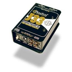 Image for J33 Turntable DI Direct Box Phono Preamp from SamAsh