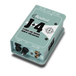 Radial J+4™ Balanced -10dB to +4dB Signal Driver