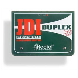 Image for JDI Duplex Two-Channel Passive Stereo Direct Box from SamAsh