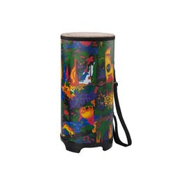 """Image for Kids Percussion Tubano Drum - Fabric Rain Forest - 10"""" from SamAsh"""