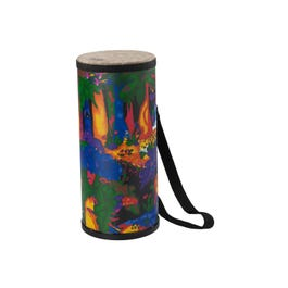 """Image for Kids Percussion Konga Drum - Fabric Rain Forest - 6"""" from SamAsh"""