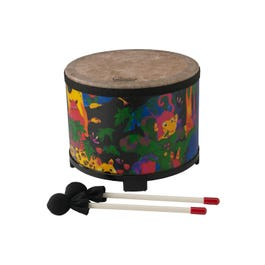 Image for Kids Percussion Floor Tom Drum - Fabric Rain Forest - 10 from SamAsh