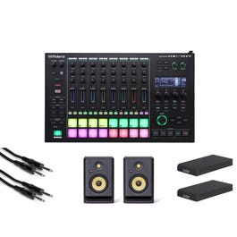 Image for MC-707 Groovebox with Speakers, Isolaion Pads, and Cables from SamAsh