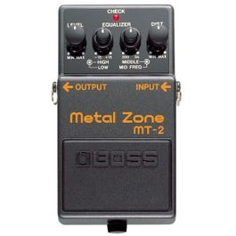 Image for MT-2 Metal Zone Distortion Guitar Effects Pedal from SamAsh
