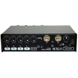 Rolls MX422 Four Channel Microphone/Line Field Mixer