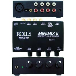 Image for MX51s - Mini-Mix 2 Line Mixer from SamAsh