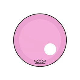 """Image for Powerstroke P3 Colortone Bass Drum Head w/ 5"""" Mic Hole - Pink from SamAsh"""