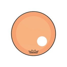 """Image for Powerstroke P3 Colortone Bass Drumhead with 5"""" Offset Hole - Orange from SamAsh"""