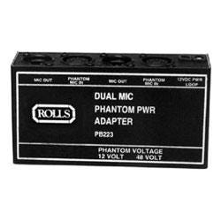 Image for PB223 Dual Phantom Power Supply from SamAsh