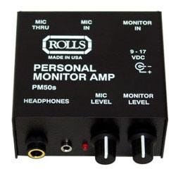Image for PM50S Personal Monitor Headphone Amplifier from SamAsh