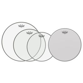 """Image for Emperor Clear Propack Drumhead Pack with Free 14"""" Ambassador Coated Drumhead from SamAsh"""