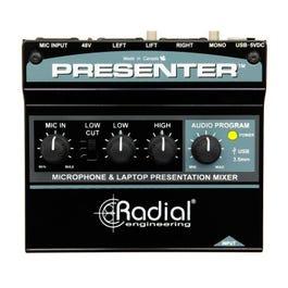 Radial Presenter - Audio Presentation Mixer