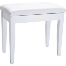 Roland RPB-100WH Piano Bench with Storage Compartment, Satin White
