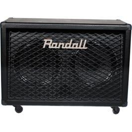 """Randall Diavlo RD212 2x12"""" Angled Guitar Speaker Cabinet w/Celestion Vintage 30 Speaker"""