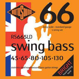 Image for RS665LD Swing Bass Electric Bass 5 String Set (45-130) from SamAsh