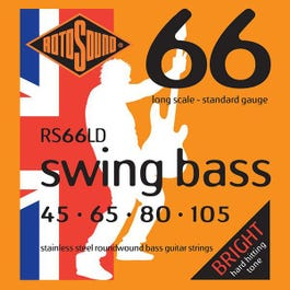 Image for RS66LD Swing Bass Electric Bass 4 String Set (45-105) from SamAsh