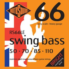 Image for RS66LE Swing Bass Electric Bass 4 String Set (.050-.110) from SamAsh