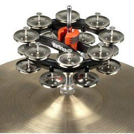 Rhythm Tech RT7422 ,Hat Trick G2 Double Row - Nickel Jingles