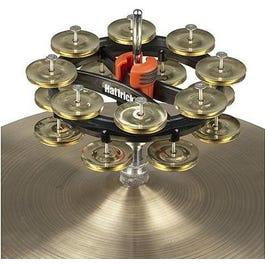 Rhythm Tech RT7423 Hat Trick G2 Double Row - Brass Jingles