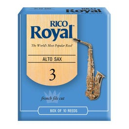Image for Rico Royal Alto Saxophone Reeds (Assorted Strengths - Box of 10) from SamAsh