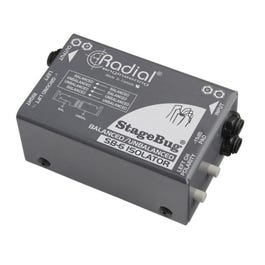 Image for StageBug SB-6 Passive Stereo Line Isolator (Open Box) from SamAsh