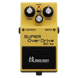 Boss SD-1W Super OverDrive Waza Craft Special Edition Overdrive Guitar Effects Pedal
