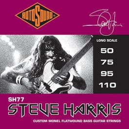 Image for SH77 Steve Harris Signature 4 Electric Bass String Set (50-110) from SamAsh