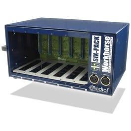 Radial Workhorse SixPack - Portable 6 Slot Power Rack