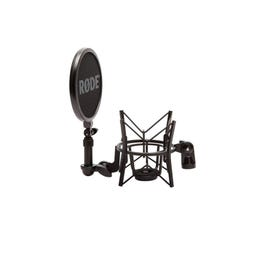 Image for SM6 Microphone Shockmount and Removable Pop Filter from SamAsh