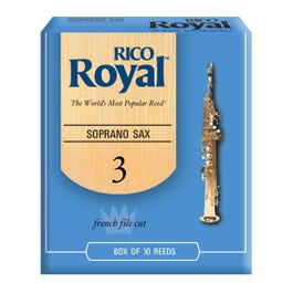 Image for Rico Royal Soprano Saxophone Reeds (Assorted Strengths) from SamAsh