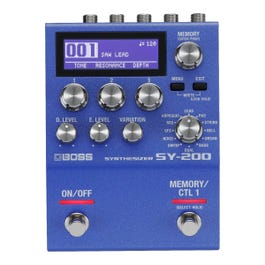 Image for SY-200 Synthesizer Guitar Synthesizer Pedal from Sam Ash