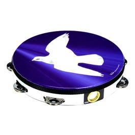 Image for Praise Tambourine (Religious Dove