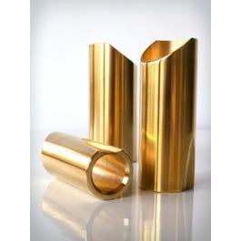 The Rock Slide TRS-MB, Original Polished Brass Slide, Medium