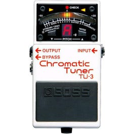 Image for TU3 Chromatic Guitar & Bass Pedal Tuner from SamAsh