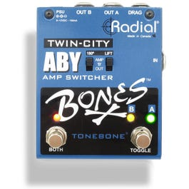 Image for Tonebone Twin-City Active ABY Amp Switcher Pedal from SamAsh