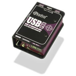 Radial USB-Pro™ Stereo USB Laptop DI