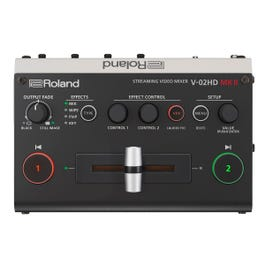 Image for V-02HD MK II Streaming Video Mixer from Sam Ash