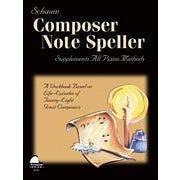 Hal Leonard Composer Note Speller Level 1