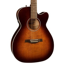 Image for Performer CW Concert Hall Burnt Umber QIT Acoustic Electric Guitar from SamAsh