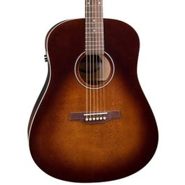 Image for Seagull S6 Original Burnt Umber QIT Acoustic-Electric Guitar from SamAsh