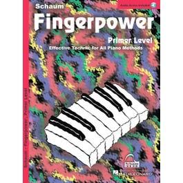 Hal Leonard Fingerpower– Primer Level -Book/Online Audio