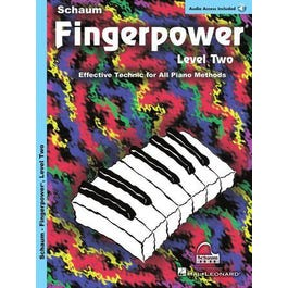 Image for Fingerpower – Level 2-Book + Audio Online from SamAsh