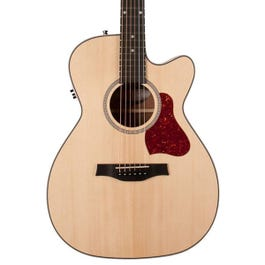 Image for Maritime Solid Wood Series Concert Hall CW Semi-Gloss QIT Acoustic-Electric Guitar from SamAsh